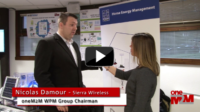 oneM2M/ESMIG Home Energy Management Showcase, Sierra Wireless